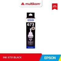 TINTA REFILL INK EPSON T6731 BLACK HITAM ORIGINAL
