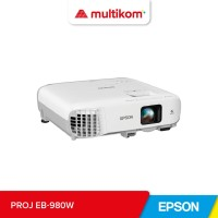 PROJEKTOR PROYEKTOR Epson EB-980W Bright WXGA 3LCD Projector