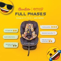 Cocolatte Car Seat Full Phases with Isofix x Emoji 9192
