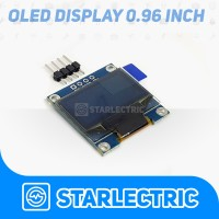 LCD OLED 0.96 WHITE I2C Modul for Arduino Display