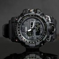JAM TANGAN PRIA MURAH CASIO G-SHOCK GSHOCK DUAL-TIME GWG-1000 GK002