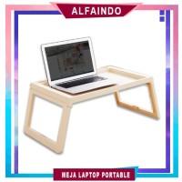 Meja Lipat Tempat TIdur Meja Lipat Portable Laptop LD001