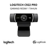 LOGITECH C922 PRO Stream Webcam HD - GARANSI RESMI