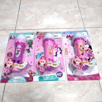 Mainan Anak Microphone Mic Disney 8003B Little Pony LOL MICKEY