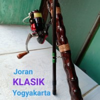 Joran Pancing KLASIK Bambu cendani 160 cm (2 bagian)