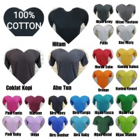 Kaos Polos Putih Soft Cotton, Cotton Combed 30s