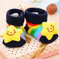 Kaos Kaki Bayi Sepatu Balita Motif 3D Anti Slip Korean Unisex - 9205
