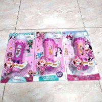 Mainan Anak Microphone Mic Disney 8003B Little Pony LOL MICKEY KP