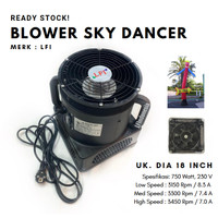 Blower Sky Dancer / Air Dance / Balon Menari 18 Inch (3 Speed)