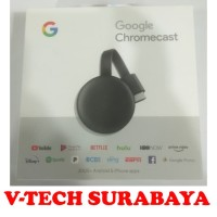 GOOGLE CHROMECAST CHROME CAST 3