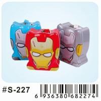 Celengan kaleng gembok Transformers S-227