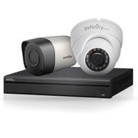 Paket cctv 4 camera 2 mp HD TVI infinity