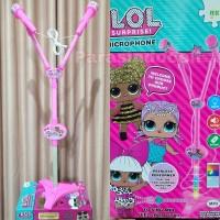 Mainan Standing Microphone LOL Mic Anak Bernyanyi