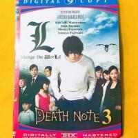 Kaset DVD Film Death Note 3 Kualitas HD Sub Indo Terlaris