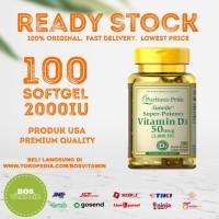 Puritan's Pride Vitamin D3 2000 IU - 100 Softgel