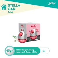 Stella Car Parfumist PETAL CRUSH PINK 45gr Parfum Mobil Stella Twist