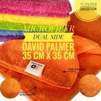 Microfiber Dual Side David Palmer - Kain Lap Pembersih Motor Mobil