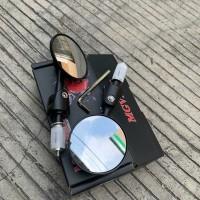 Spion Jalu Lipat Bar End Nmax Aerox Xmax Vario Pcx Vespa Msx