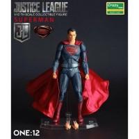 Action figure Superman justice league Crazy Toys original artikulasi