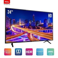 LED TV TCL 24 Inch L24D310 USB Movie, HDMI, TV ONLY