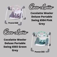 Bouncer Cocolatte Weeler Deluxe Portable Swing New