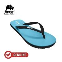 Fipper Slim / Sandal Jepit Wanita / Blue Sky - Black