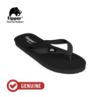 Fipper Classic / Sandal Jepit Unisex / Black - Black