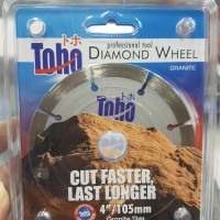"Diamond Wheel / Gerinda Mata Potong Keramik Granit TOHO 4"" KERING"