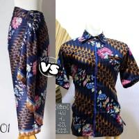 Baju Batik Couple Rok Lilit Serut