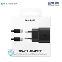 SAMSUNG Travel Adaptor Super Fast Charging (25W) Type-C to C ORIGINAL