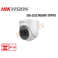 Kamera CCTV Hikvision DS-2CE76D0T-ITPFS 2 MP Audio