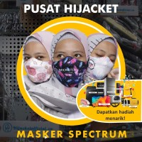 MICRO MASK SPECTRUM BY HIJACKET HIJAB MASKER PRINTING