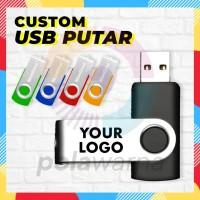 Flashdisk Putar Custom / USB Flashdisk Putar Promosi Termurah