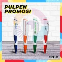 Pulpen Gepeng Promosi Custom / Pen Promosi Souvenir / Bulpen Promosi