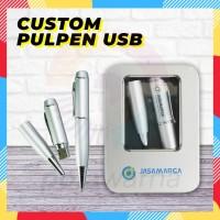Pulpen Flashdisk Laser Custom / USB Flashdisk Pulpen / Pulpen USB