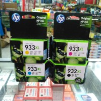 Catridge Hp 932 XL black ,Hp 933 XL cyan, magenta, yellow ORIGINAL