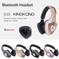 Headset S33 Bluetooth Wireless Gaming Headset Headphone PC