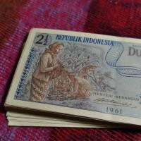 Uang Kuno Rp. 2.5 Seri Sandang Pangan (1961)