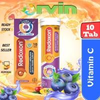 Redoxon Blackcurrant 10`S / Suplemen / Vitamin C / Daya Tahan Tubuh