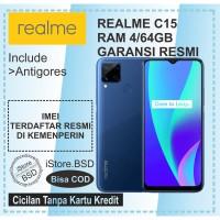 REALME C15 RAM 4/64GB | 6000mAh BATTERY | GARANSI RESMI 1 TAHUN