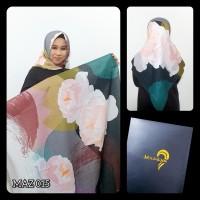 Hijab printing segi empat premium voal by mazaya hijab premium
