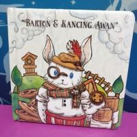 Board book Buku cerita Anak Barton & Kancing awan