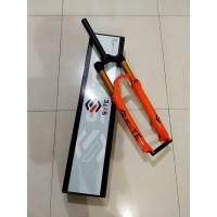 Garpu angin SYTE air fork with lock preload travel 120 sepeda MTB 27.5