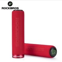 Rockbros Single Lock Sponge Handle Grip Gagang Handlebar - Red