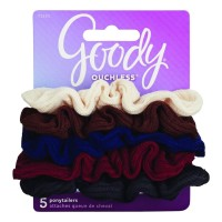 Goody ouchless 71331G6A/ 1942432/ 71331 small ribbed scrunchie 5ct