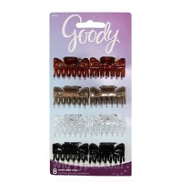 Goody classic 76023 small bowtie claw clip 8ct