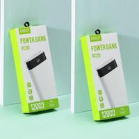 Powerbank ROBOT RT210 12000mAh 2 USB Ports + LED Display ORIGINAL