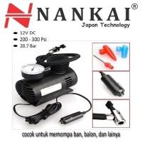 Kompresor Mini Nankai Pompa Angin Motor Mobil Sepeda perkakas