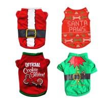 untuk Natal Kaos T-Shirt Katun Lembut Nyaman Bayi / Anak Laki-laki /