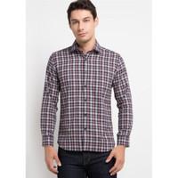 EDITION Men's Naval Patch Flannel Esl74 Shirt